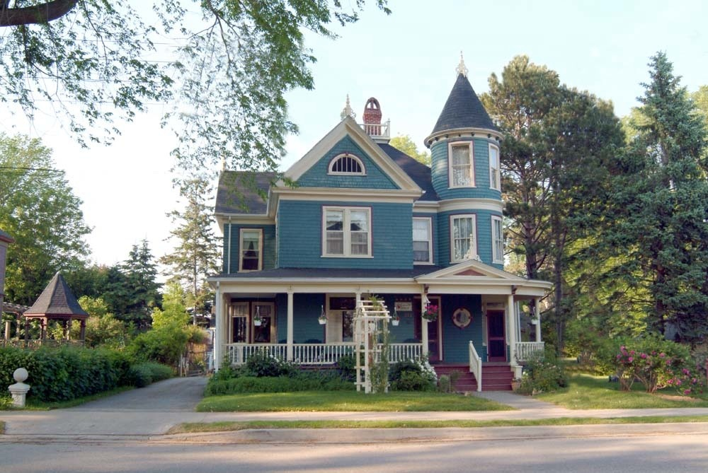 Our historic home and town at the turret bed breakfast for Our victorian house